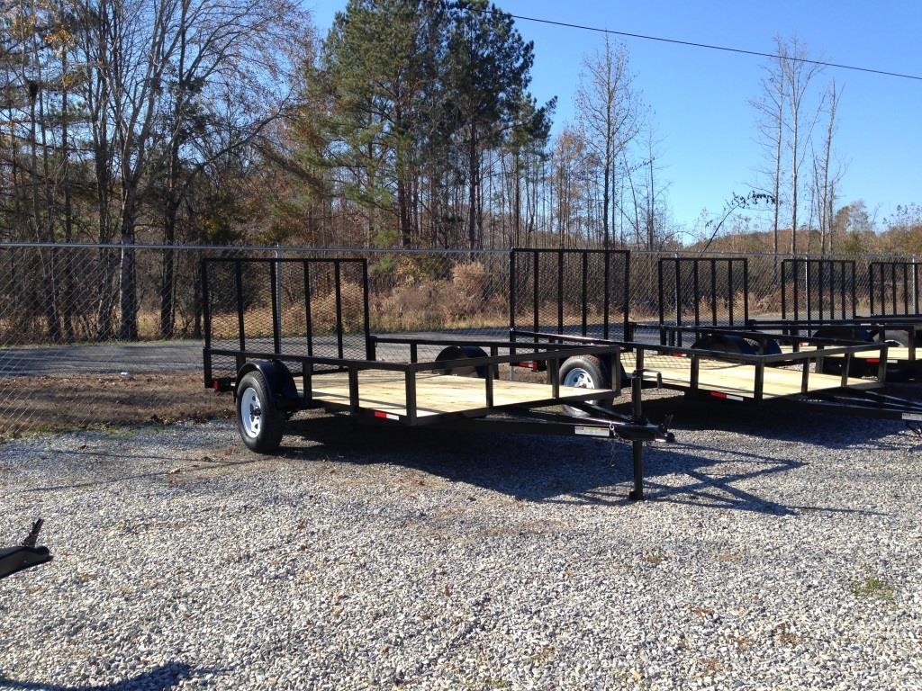 New 6 X 12 Utility Trailer 1125 00 Southland Golf Carts